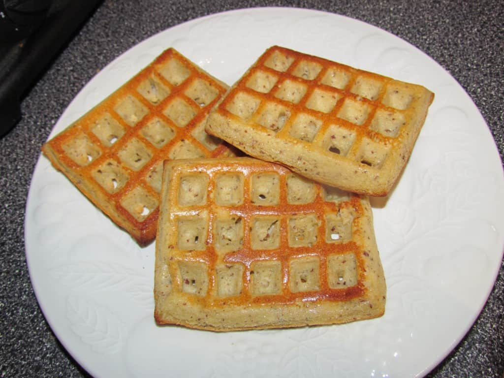 Oven Baked Waffles - Powered by Mom
