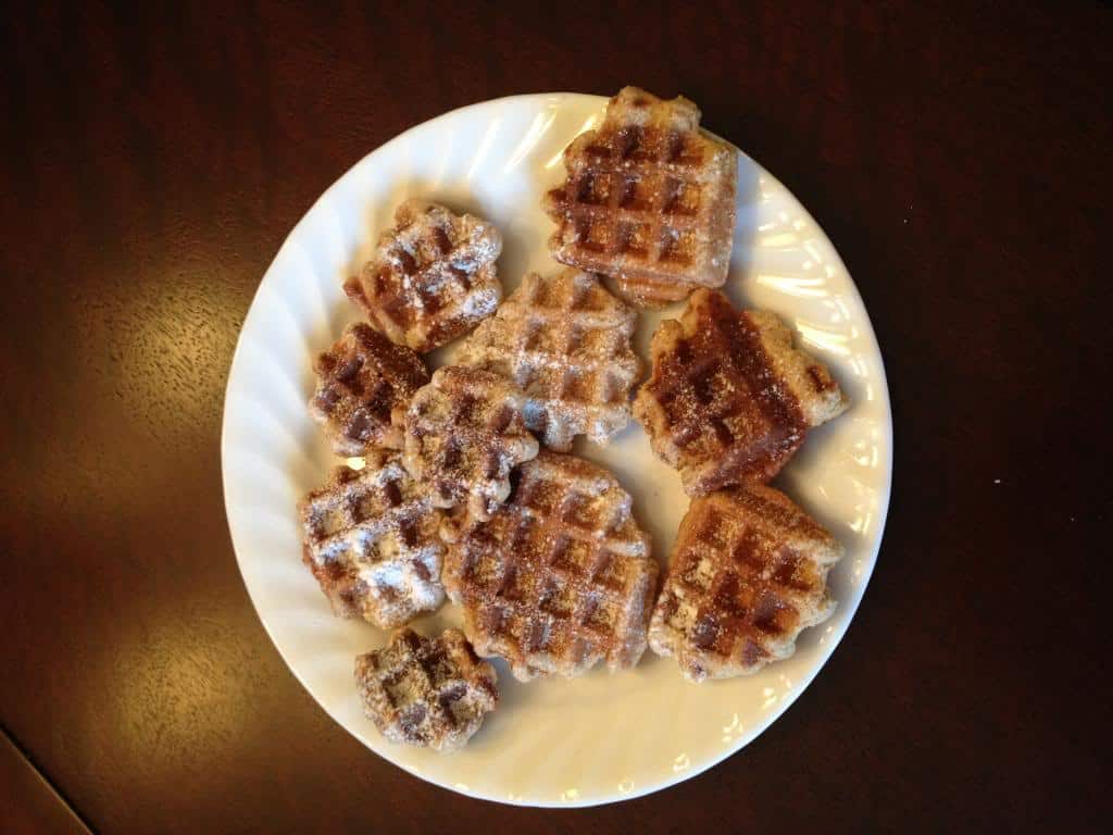 Waffle Cookies Knit Wit by Shari