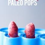 Cherry Maple Paleo Pops