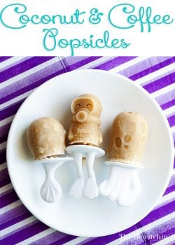 Coconut Coffee Popsicles
