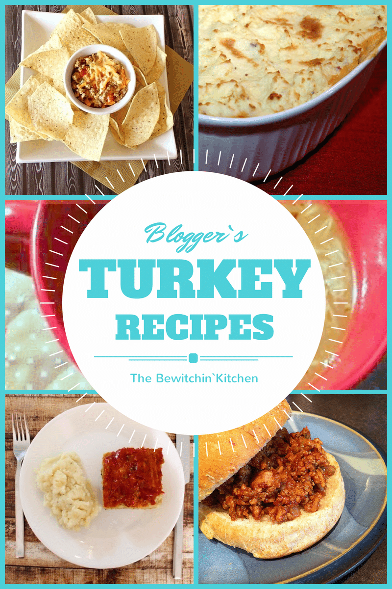 Ground Turkey Recipes From Bloggers