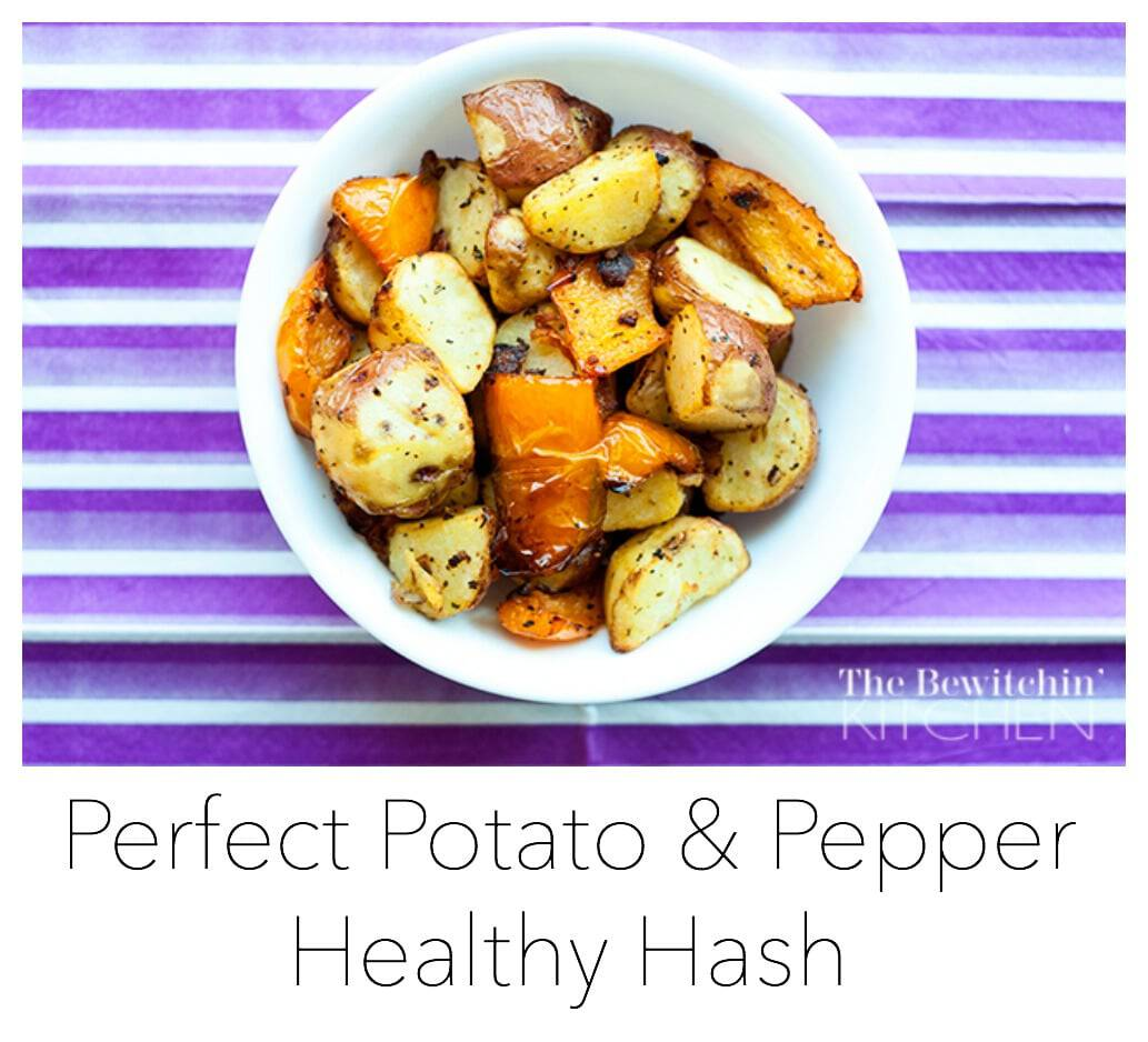 Perfect Potato & Pepper Hash