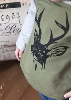 Stag You're It from PeekaBoo Beans. So cute