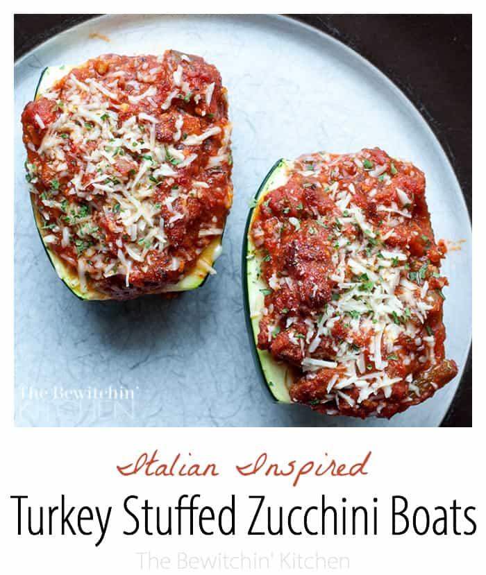 Stuffed Zucchini Boats | The Bewitchin' Kitchen