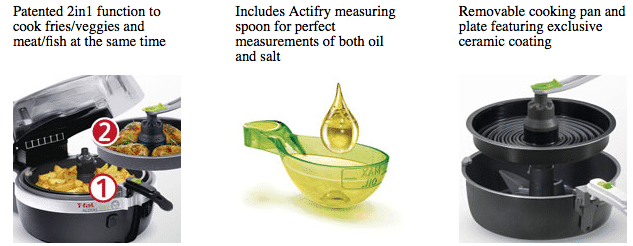 Tfal actify features