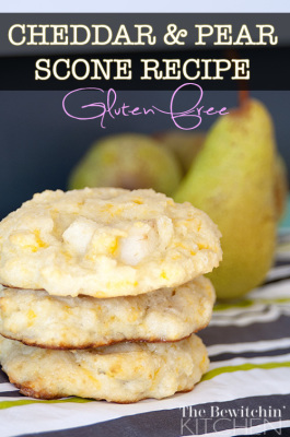 ... Scone Recipe using Cheddar and Pear. The mix of sweet and savory