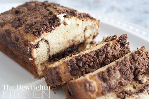 Chocolate Chip Quick Bread - It only takes five minutes to throw together