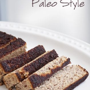 Paleo Banana Bread - one of the best banana breads I have had