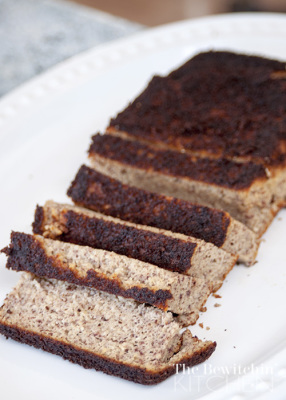 This Banana bread is so delicious, gluten free and paleo