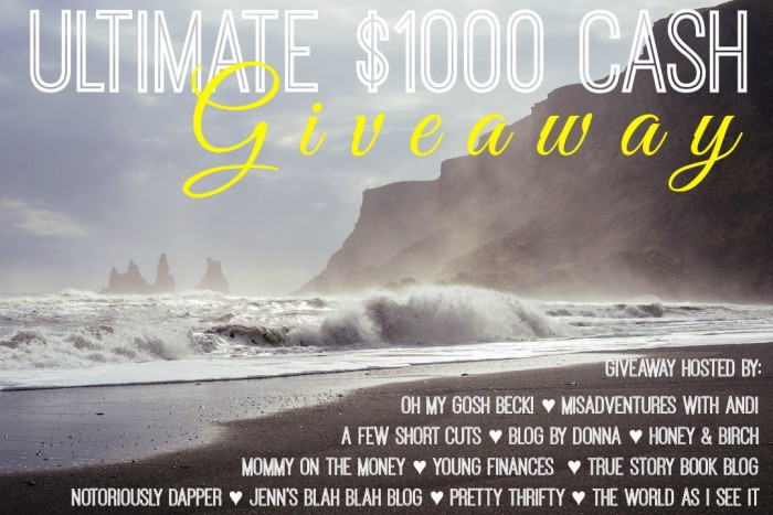 Ultimate $1000 Cash #giveaway