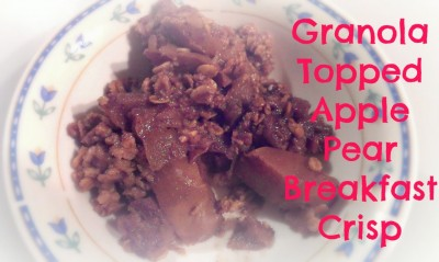 granola-topped-apple-pear-breakfast