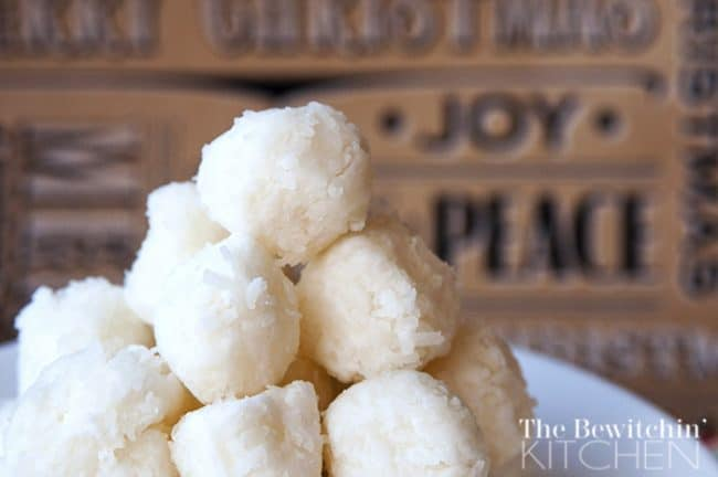 Coconut Candy Balls