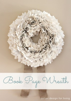 DIY-Book-Page-Wreath