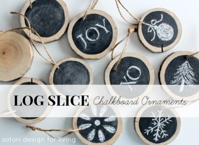 DIY-Log-Slice-Chalkboard-Ornaments