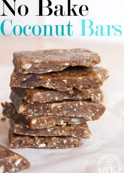 No Bake Coconut Bars