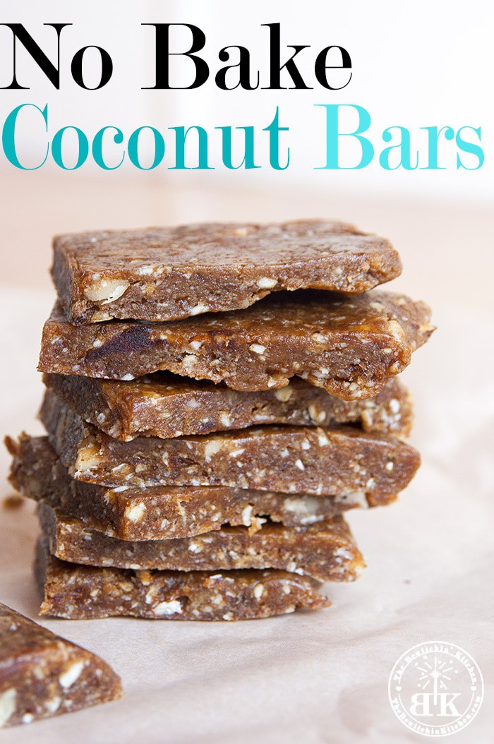 Vegan No Bake Coconut Bars The Bewitchin Kitchen