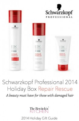 Schwarzkopf Repair Rescue 2014 Holiday Box - This is a must have if you have damaged hair
