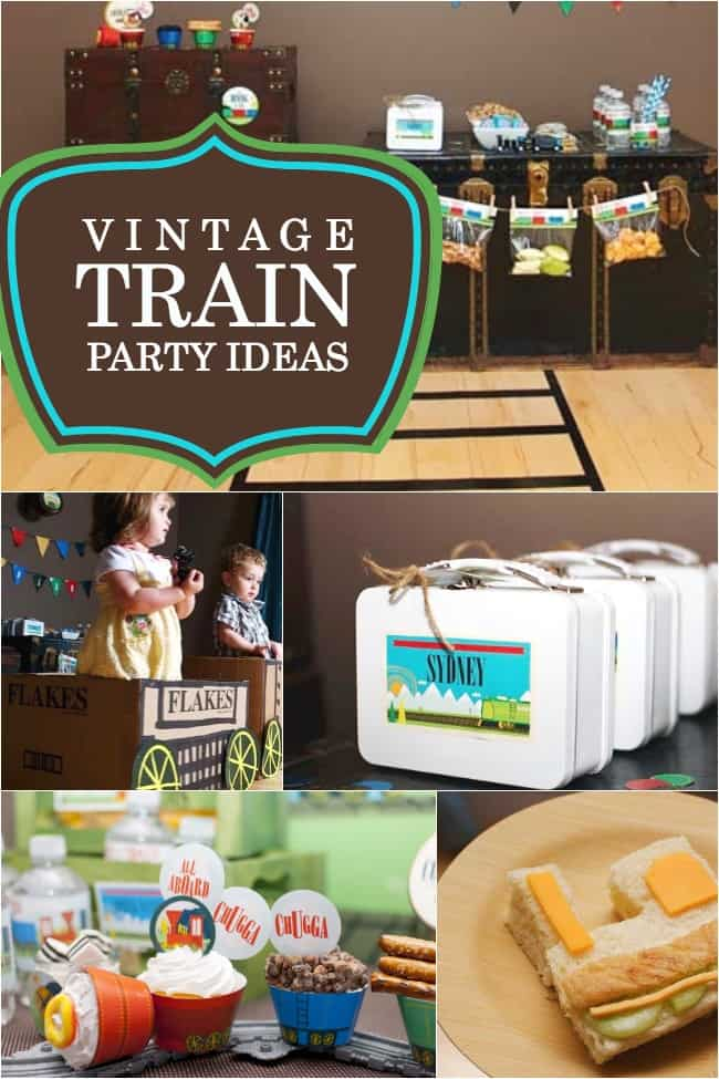 Tips for planning a train themed birthday party the for Event planning ideas parties