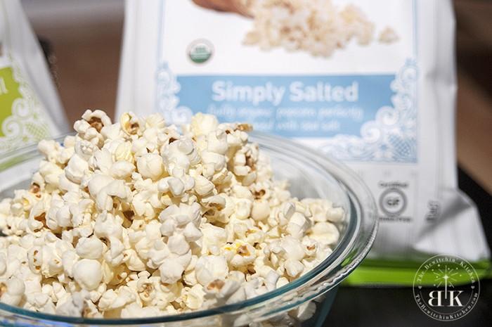 Extra Virgin Olive Oil Organic Popcorn