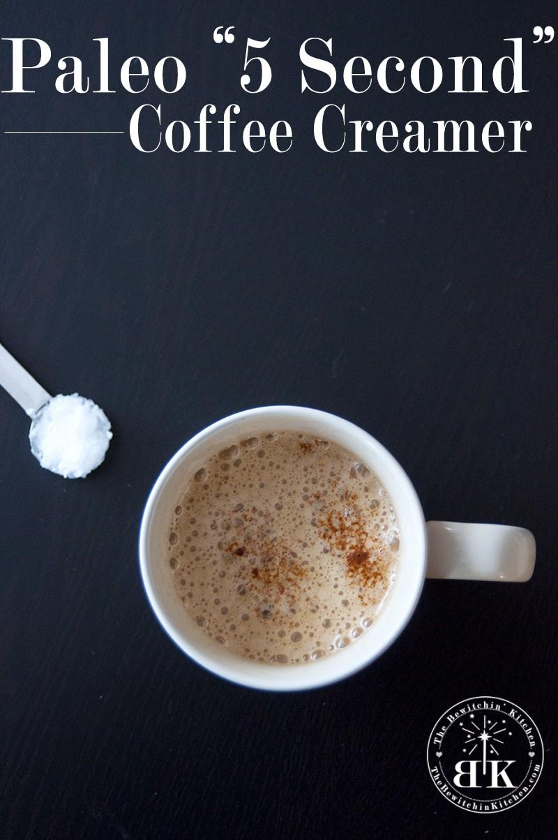 Paleo Coffee Creamer
