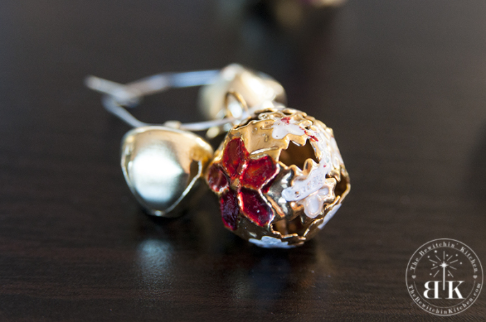 Jingle Bell wine charm craft