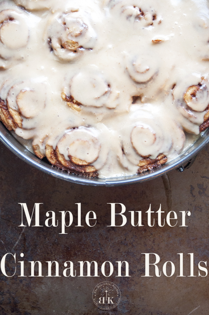 Maple Butter Cinnamon Rolls - These are THE BEST cinnamon rolls I have ever made. Nothing better than gooey cinnamon buns. |The Bewitchin' Kitchen