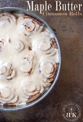 Maple Butter Cinnamon Rolls recipe - the most amazing cinnamon rolls ever
