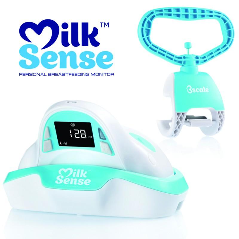 MilkSense: World's First Breastfeeding Monitor #MilkSense