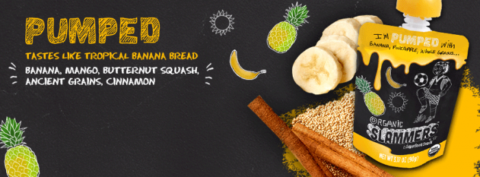 Tropical Banana Bread Superfood Snack from Picky Eaters