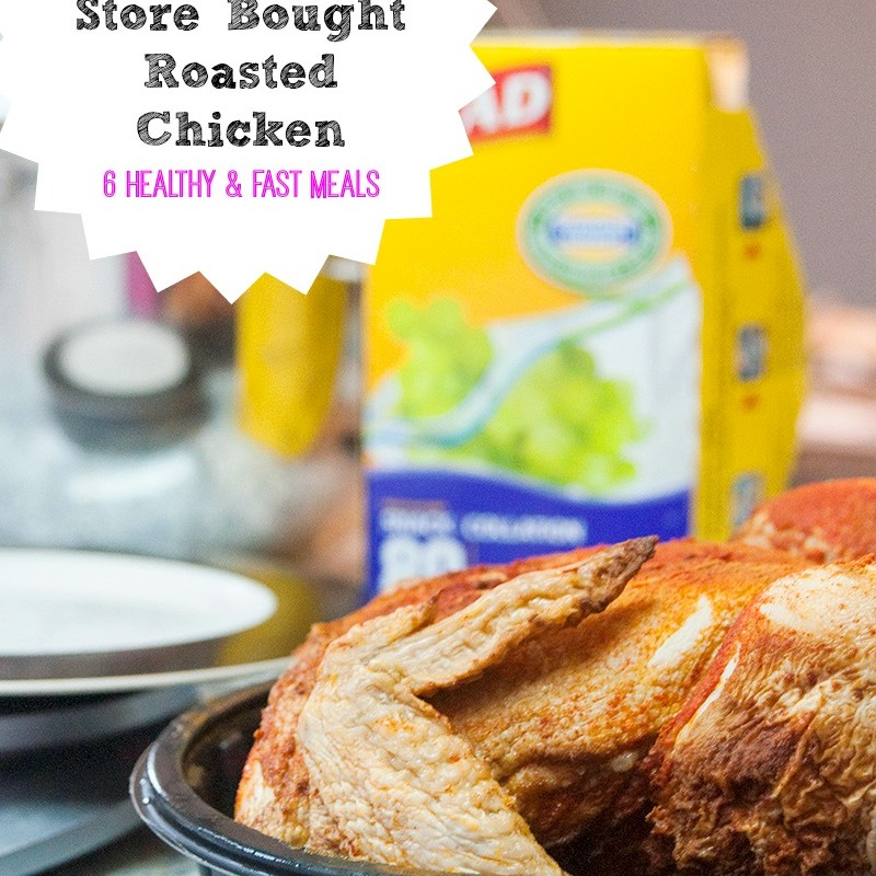 6 Meals, 1 Roasted Chicken From The Grocery Store #GLADFreshFoodChallenge