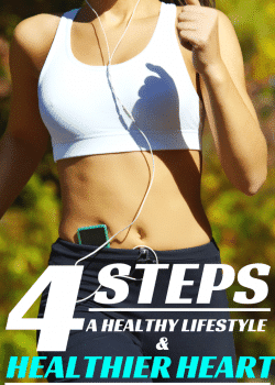 4 steps for a healthier heart and healthy lifestyle tips. I need to work on #4 the most. | The Bewitchin Kitchen