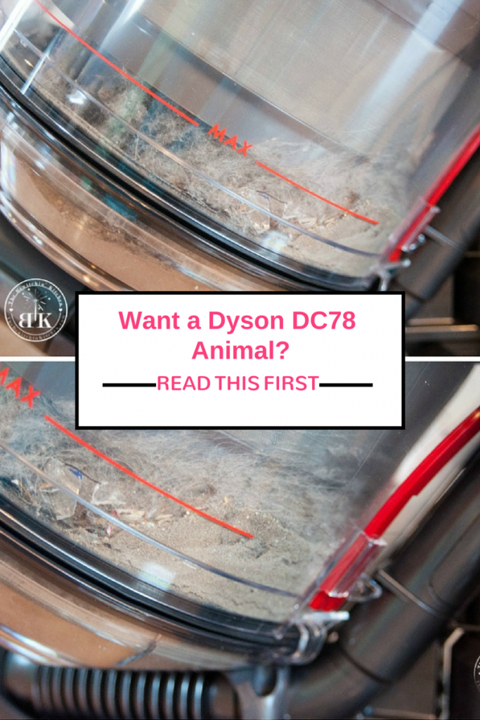 Contemplating getting a Dyson DC78 Animal? Be sure to read this first. The results are shocking