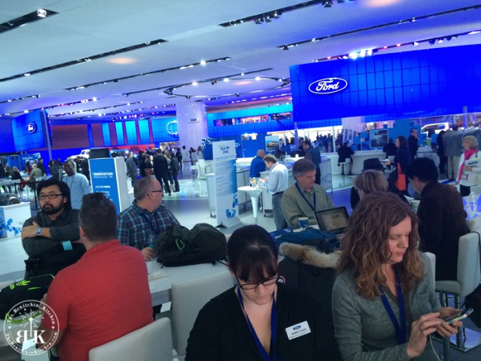 Ford Digital Influencers at the North American International Auto Show