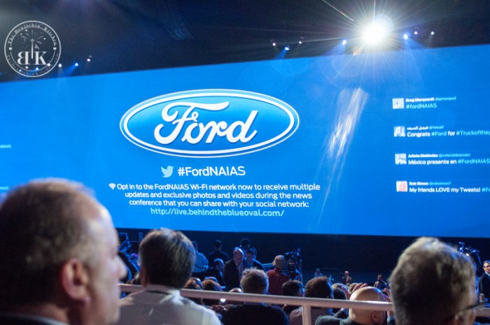 #FordNAIAS Ford Press Conference