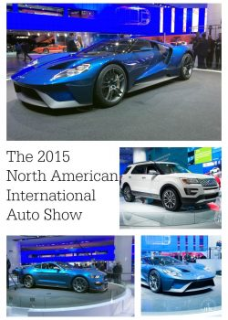 Ford's performance line up at The 2015 North American International Auto Show (NAIAS) in Detroit, MI. Ford GT, Shelby Cobra, 2017 Raptor and many more in this travel feature on The Bewitchin' Kitchen
