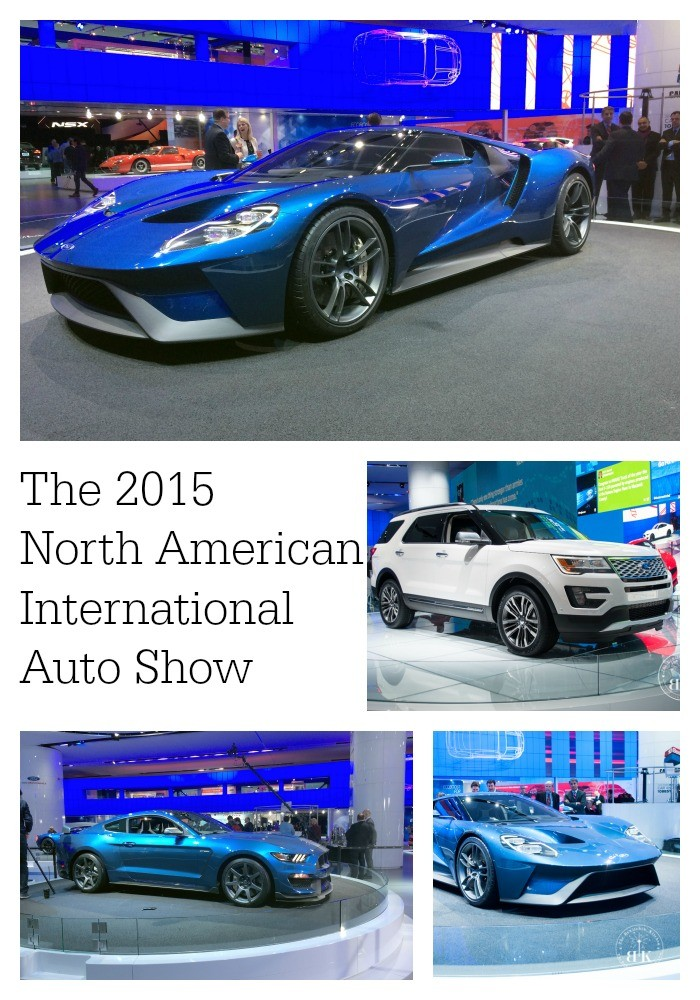 Ford's performance line up at The North American International Auto Show (NAIAS) in Detroit, MI.