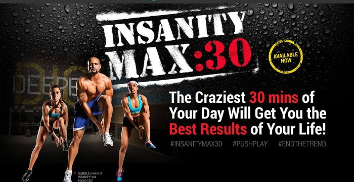 Insanity Max 30 Review Week 1 #IMaxedOut
