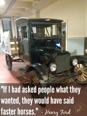 Motivational Quote from Henry Ford. Come see what else I learned from The Ford Piquette Plant