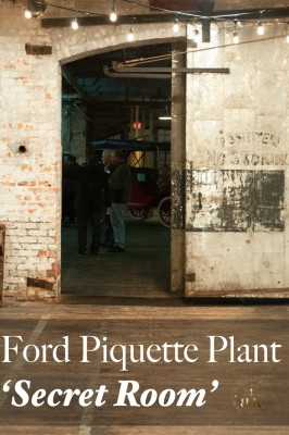 "The mystery behind ""The Secret Room"" in the Ford Piquette Plant. Detroit, Michigan"