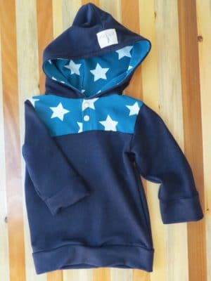 This toddler hoodie from Home Grown Apparel is so cute. Cute toddler boys and girls clothes that are handmade with quality stitching and materials.