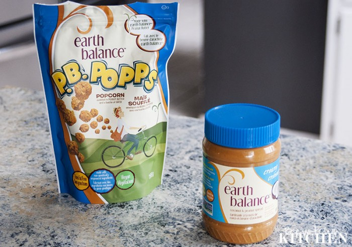 Earth Balance PB Popps, Coconut Peanutbutter and a giveaway from The Healthy Shopper
