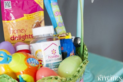 Healthy ideas for kid's easter baskets from The Bewitchin' Kitchen
