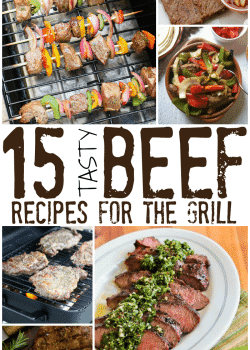 15 tasty bbq beef recipes. From steaks and kebabs to burgers, all these bbq recipes are sure to be a dinner hit | The Bewitchin' Kitchen