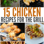 15 Chicken Recipes perfect for grilling! These BBQ chicken recipes will be a hit. | The Bewitchin' Kitchen