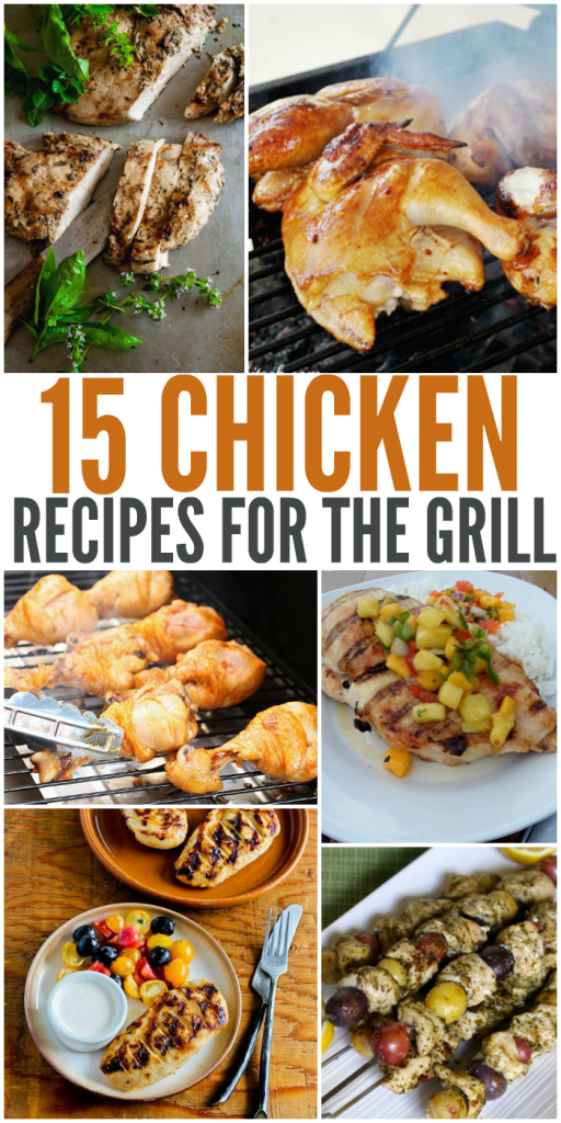 Keep things fresh and exciting with these 15 Chicken Recipes perfect for grilling! These BBQ chicken recipes will be a hit.   The Bewitchin' Kitchen