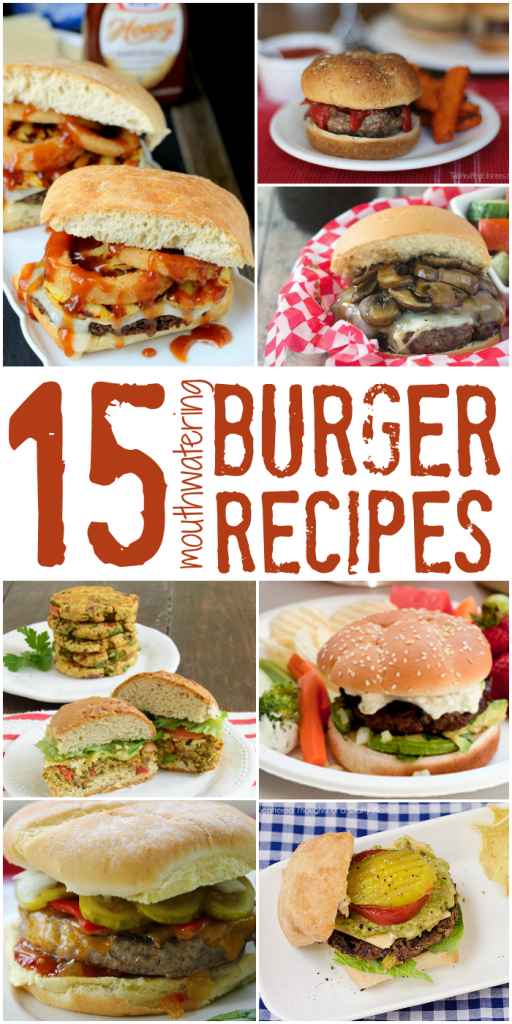 15 mouthwatering burger recipes that will rock your BBQ this summer from The Bewitchin' Kitchen.