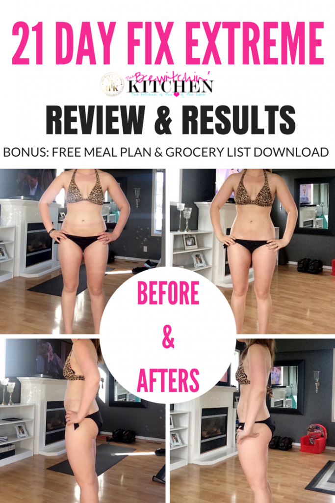 21 day fix extreme review  u0026 results   free download