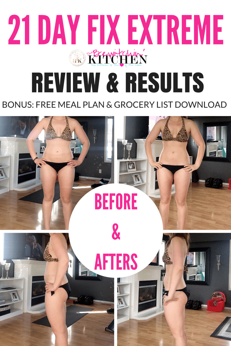 21 Day Fix Extreme Review Amp Results Free Download The