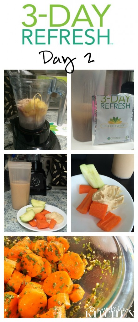 3 Day Refresh review, weight loss results PLUS free meal plan and shopping list. | The Bewitchin' Kitchen