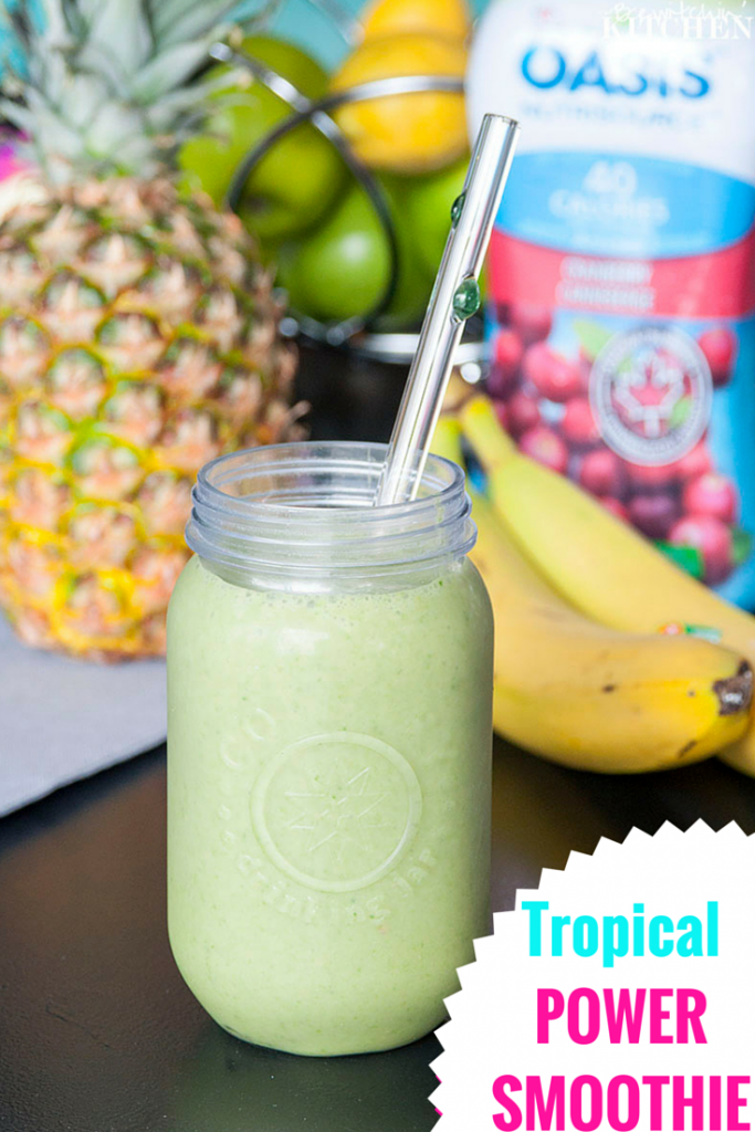 Tropical Power Smoothie recipe